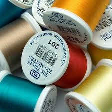 Details About Yli Silk Thread 100wt On 200 Meter Spools Choose Colors