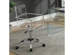 Image White Table Coaster Office Chairsoffice Chair Theramirocom Coaster Office Chairs Acrylic Office Chair With Steel Base Rooms