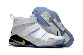 lebron james shoes white and gold. cheap nike lebron soldier james 11 white gold black shoes and k
