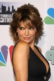 Lisa Rinna Hairstyles Lisa Rinna Short Coiffures Lisa Rinna Layered Razor Cut Coiffure