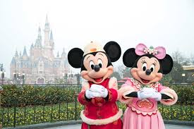 shanghai disneyland chinese new year 2019