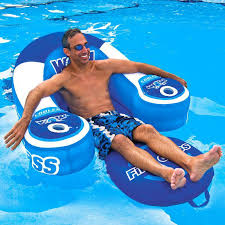 inflatable pool chair with drinks holder design ideas