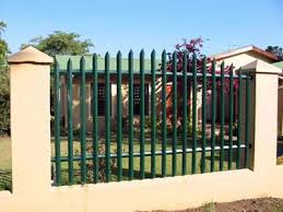 Small Picture Palisade Fence as Factory and Garden Security Fence