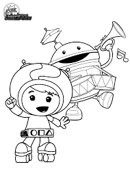Small Picture Coloring Pages Umizoomi
