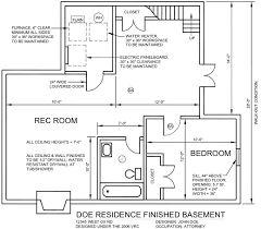 Basement Design Plans Model Cool Inspiration Design