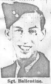 Sgt Robert Ballentine, photo taken around the time of his enlistment. - ballen2