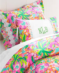 bright idea lilly pulitzer duvet covers bedding sets lily chin