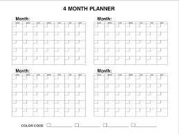 Month At A Glance Calendar Template 3 Month At A Glance Calendar Template Blank Monthly For