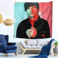 Amazon.com: Tapestry Louis Tomlinson Wall Tapestry Pictures Art Nature Home  Decorations Dorm Decor Tapestries One Size: Home & Kitchen