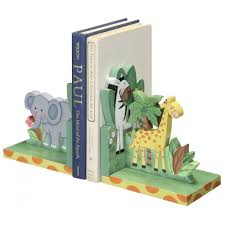 kids bookends sunny safari