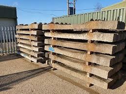 concrete railway sleepers for farm