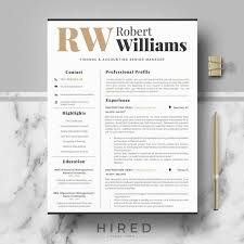 How Many Pages Is A Modern Resume Modern Professional Resume Template For Word Or Mac Pages Modern Cv Design Editable Modern Resume Cv Professional Cv Curriculum Vitae