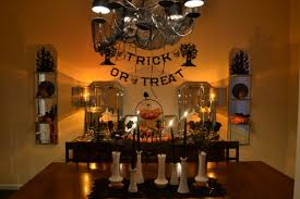 Great Halloween Dining Room Decorating Ideas Good Looking