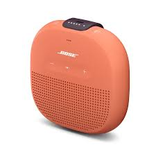 bose speakers bluetooth. side view of bose\u0027s soundlink micro bluetooth speaker in orange against a white background bose speakers n