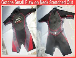 Black Shorty Wetsuit Spring Wet Suit 3mm Stretch Neoprene