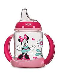 NUK <b>Disney Minnie Mouse Learner Cup</b> with Silicone Spout, 5 ...