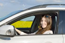 In Sitting Teenage Her Image Drivers Royalty Female Picture Image Free Stock Photo And Car Happy 61707252 Driver - Teen