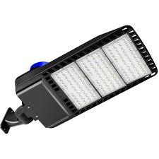 Led Shoebox Light 300w Details About Led Parking Lot Light Shoebox Street Pole Area Lighting Fixture 100w 300w 5000k