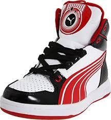 Amazon.com: Puma DJ B Fashion Sneaker (Little Kid/Big  Kid),White/Black/Ribbon Red,3 M US Little Kid: Shoes