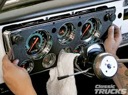 classic instruments gauge panels for 1967 1972 chevys and gmcs 1005clt 02 o classic instruments gauge panel install for 1967 1972 chevy c10s custom dash replacement