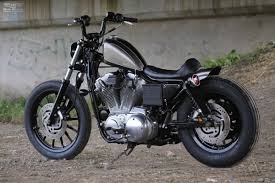 feature of the day a custom sportster aka sp 40 built by japanese