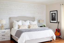 bedroom furniture interior fascinating wall. furniture beautiful silver cheap mirrored nightstand with beige headboard and wall art plus table lamp for bedroom interior fascinating f