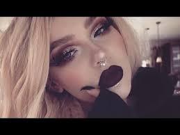 dramatic vy autumn makeup tutorial
