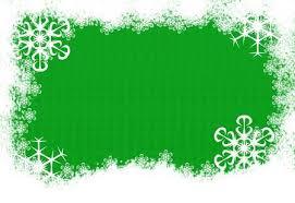 green snowflake border. Interesting Snowflake Snow And Snowflakes Making A Border On Green Background Snowflake  Stock Photo  To Green Snowflake Border 123RFcom