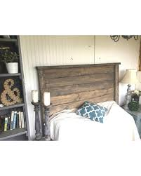 King size wood headboard Captivating Rustic Headboards Driftwood Twinfull Queen Headboard King Size Headboard Weathered Better Homes And Gardens Sweet Savings On Rustic Headboards Driftwood Twinfull Queen