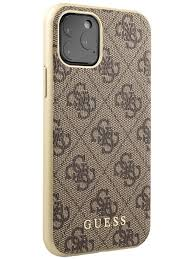 <b>Чехол Guess</b> для iPhone 11 Pro <b>4G</b> collection Hard Brown <b>GUESS</b> ...