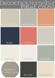 most popular interior paint colorsPaint Colors in Our Home and Updated Home Tour  Decorchick