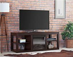 parsons electric fireplace tv stand for tvs up to 65 espresso