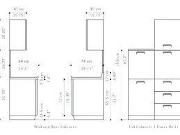 Kitchen Cabinet Dimensions Chart Standard Kitchen Cabinet Sizes Cm Kiendo Info