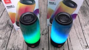 Waterproof Speaker With Lights Jbl Pulse 3 Led Bluetooth Speakers