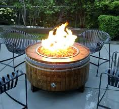 round gas fire pit table natural gas fire pit table round propane concrete rings for tables