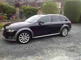 black audi 2010. audi a4 car from united kingdom black 2010