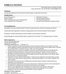 Field Marketing Channel Manager Resume Example At T