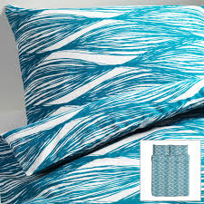 ikea duvet covers twin sweetgalas blue and white striped