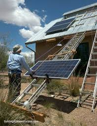 how to mount photovoltaic pv solar panels to a corrugated metal roof