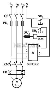 relay circuit automation circuits next gr Phase Failure Relay Wiring Diagram phase solid state relay fault protection circuit b phase failure relay circuit diagram