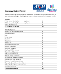 Free Household Budget Planner Template Monthly Budget Planner