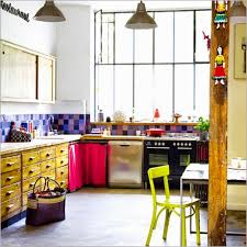 Colorful Kitchens Home Colorful Kitchen The Blond Zebras