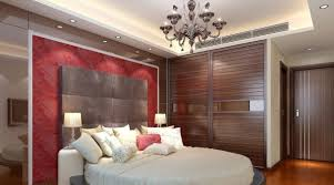 Decorations:Magnificent Bedroom Ceiling Decoration With Crystal Chandelier  Idea Modern Ceiling Design Of Master Bedroom
