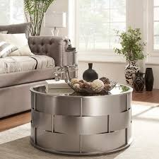 hayes mirror top metal accent coffee table by inspire q bold accent coffee table h50
