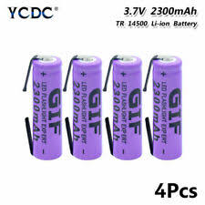 <b>14500 Rechargeable</b> Batteries for sale | eBay