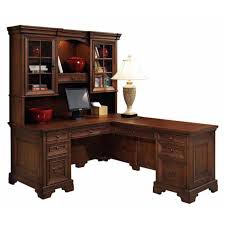 l shaped office desk with hutch. Brilliant Hutch Lshaped Richmond Desk U0026 Hutch Set Throughout L Shaped Office With N