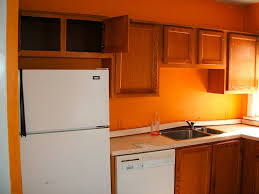 Color For Kitchen Walls Kitchen With White Cabinets And Orange Walls Yes Yes Go