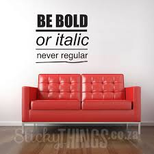 impressive office wall art decal e be bold stickythingscoza pertaining to office wall art popular