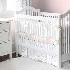 white modern crib