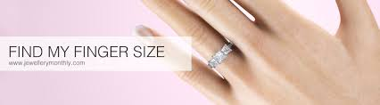 Engagement Ring Diamond Size Chart Find Your Ring Size With Our International Ring Size Chart